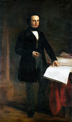 Isambard Kingdom Brunel, English civil engineer, 1848.