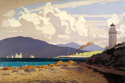 'The Clyde' by Norman Wilkinson, c 1930s.