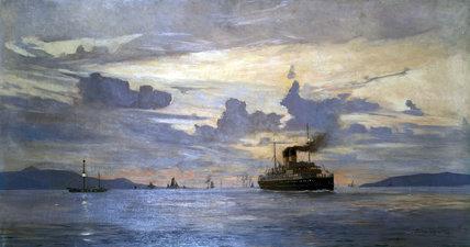 'Dublin and Holyhead', 1905.