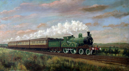 Great Central Railway expres, 1899.