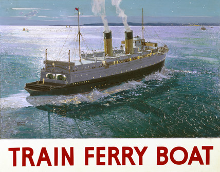 'Train Ferry Boat', 1936.