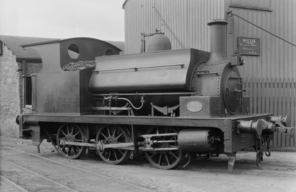 Londonderry Port & Harbour 0-6-0ST No.1. Locomotive & General Railway Photographs. Ireland, 1933.