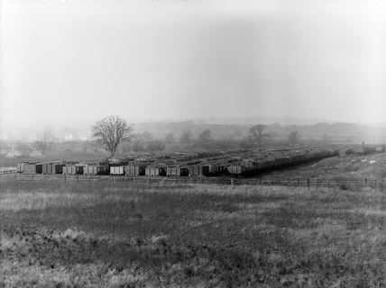 Toton, Meadow Sidings, 1910.