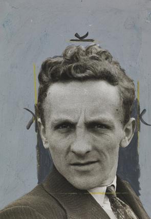 Portrait of Edward Malindine.