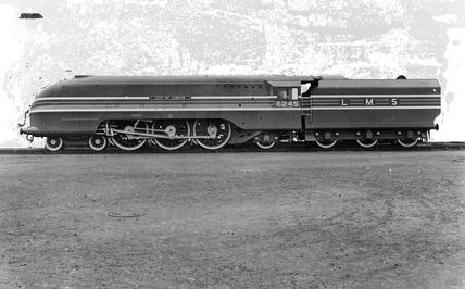 LMS 4-6-2 Class 7P Princess Coronation locomotive no. 6245, 'City of London'.
