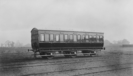 Midland Railway Carriage book, six wheel Third Class carriage No. 1217. 26 January 1960 (Euston DM, DM_5990).