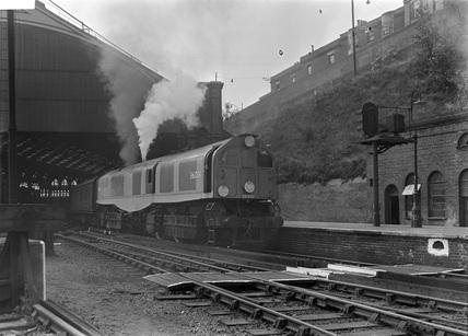 B.R.Southern Region Leader Class 0-6-6-0 No. 36001, c.1950.