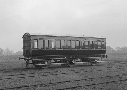 Third class carriage, of locomotive N.1217. (Derby, DY_6501).
