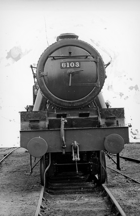 London Midland Scotland (LMS) locomotive no. 6103 'The Royal Scots Fusilier'  Royal Scot class 6P 4-6-0, 24th June 1943