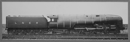 Right side of London North Eastern Railway (LNER) locomotive no.10000 class W1. (NRM_PHA_106).
