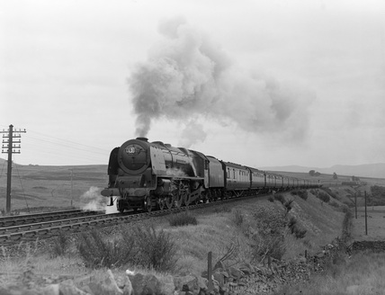 London Midland Scotland (LMS) locomotive 6230 Duchess of Buccleuch. MH_ET_LS_76.