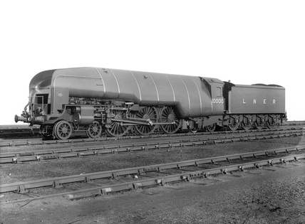 London and North Eastern Railway (LNER) W1 class locomotive no.10000. (Darlington, DAR_1025).