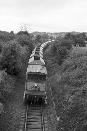Stone hopper train on the way to Redmire Quarry on the Wensleydale line. (NRM, NRM_1278/92).