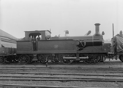 South Eastern Railway  (SER) 0-4-4T locomotive no.50 class Q.