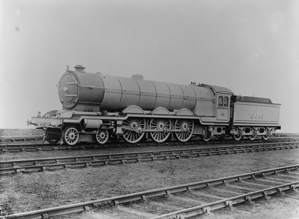 London and  North Eastern Railway (LNER) Class A 4-6-2 Locomotive No.2402 (old 4-6-2 class). DAR_805. (Darlington, DAR_805).