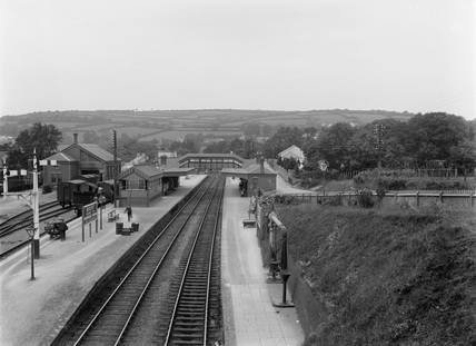 Great Western Railway (GWR) Brent station, 3rd June 1921.