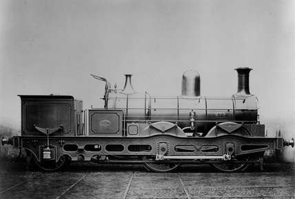 London and North Eastern Railway (LNER) F5 class locomotive no. 273, 21st July 1910. (Doncaster, DON_41G).
