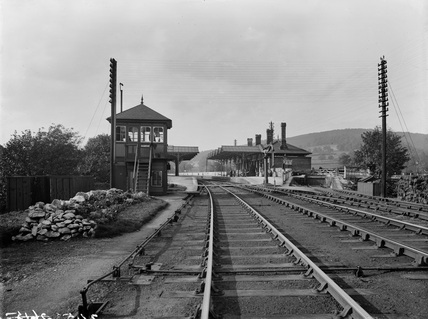 Rowsley station, September 1903 (Derby, DY2453).