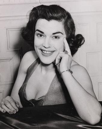 Miss Avis Scott, 1954.