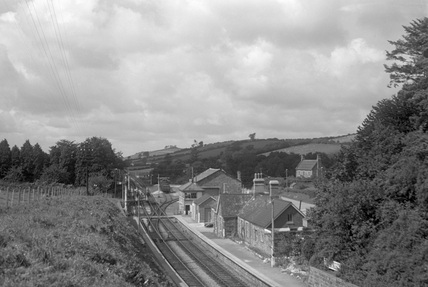 Filleigh, looking west c.1950.