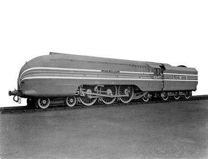 LMS Class 7P locomotive no. 6247