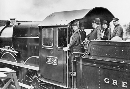 King Edward and Queen Mary, 1924. (NRM_1156_85).