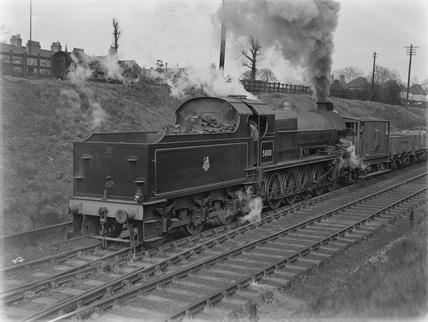 Lickey Banker' leaving Bromsgrove c1950.