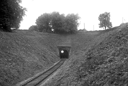 Venn Cross Tunnel, looking towards the station, c1950