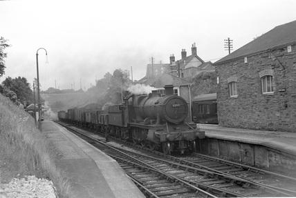 Locomotive no. 6398, Venn Cross, 21 June 1958