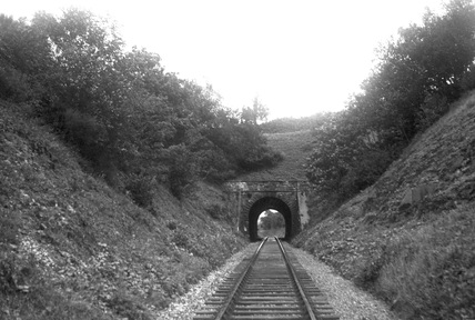 Knackers Hole Tunnel, looking east c1950