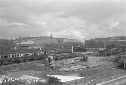 Dulverton Goods Yard, c1950