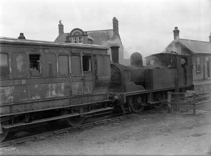 London & North Eastern Railway J71 0-6-0T locomotive no. 68293, Easingwold.