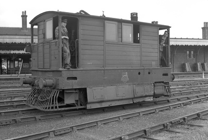 Great Eastern Railway no. 68222 at Wisbech c1952