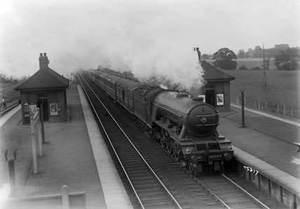 LNER A1 locomotive no. 2556.