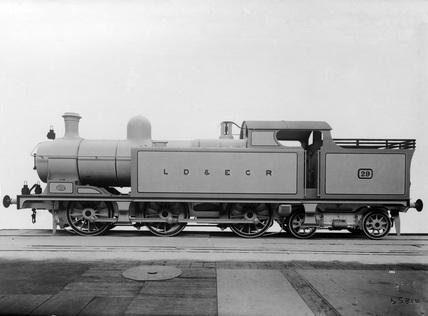 LDEC 0-6-4T locomotive no. 29