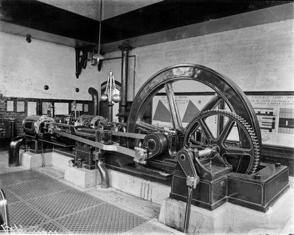 Engine, hydraulic, St. Pancras Goods