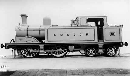 LDEC 0-4-4T locomotive no. 16