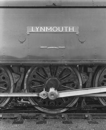SR locomotive no. 34099 'Lynmouth'