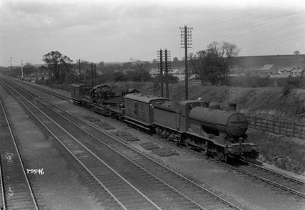 LNER J6 locomotive no. 33572