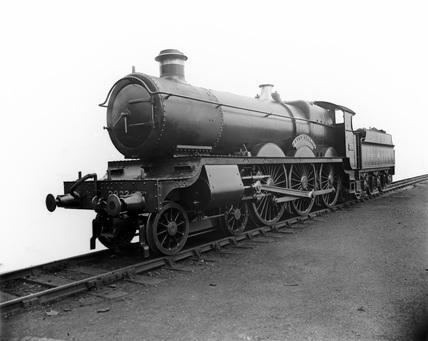 GWR locomotive no. 2923 'St George'