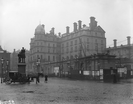 Bradford Hotel Exterior, c1880s (Derby, DY_3122)