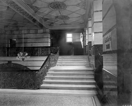 Bradford Midland Hotel, Grand Staircase (Derby, DY_4224)