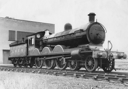 LNER 4-6-0 class B13 counter pressure locomotive no. 1699.