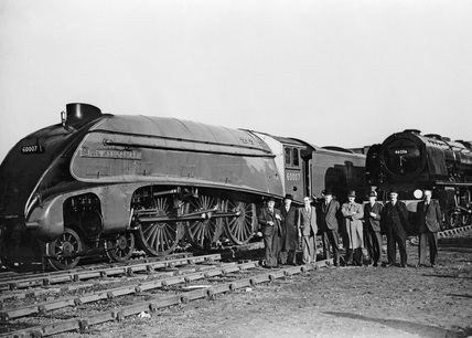 Official opening of the Rugby Locomotive Testing Station