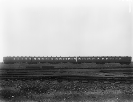Quintuplet carriages, vehicle nos. 9001-9005. 7 July 1920 (Doncaster, DON_W29)