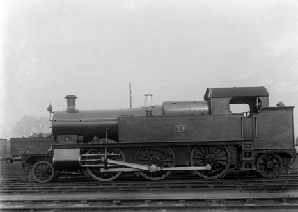 GWR 2-6-2T locomotive no. 99