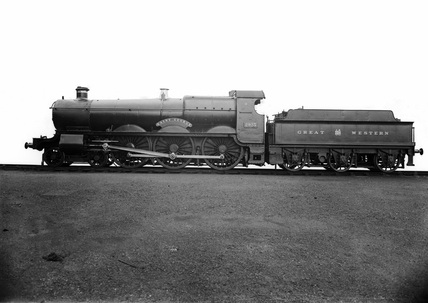 GWR locomotive no. 2923 'St George'