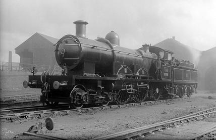 GWR locomotive no. 102