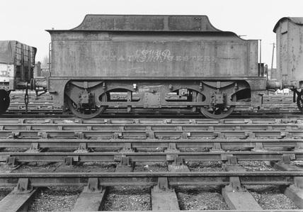 Great Western Railway's mobile water tank, c.1940s.