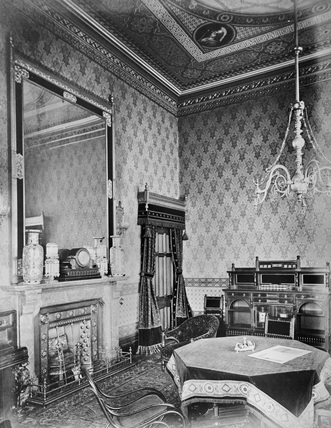 Bedroom, Midland Grand Hotel, St Pancras Station, London, 1886-70